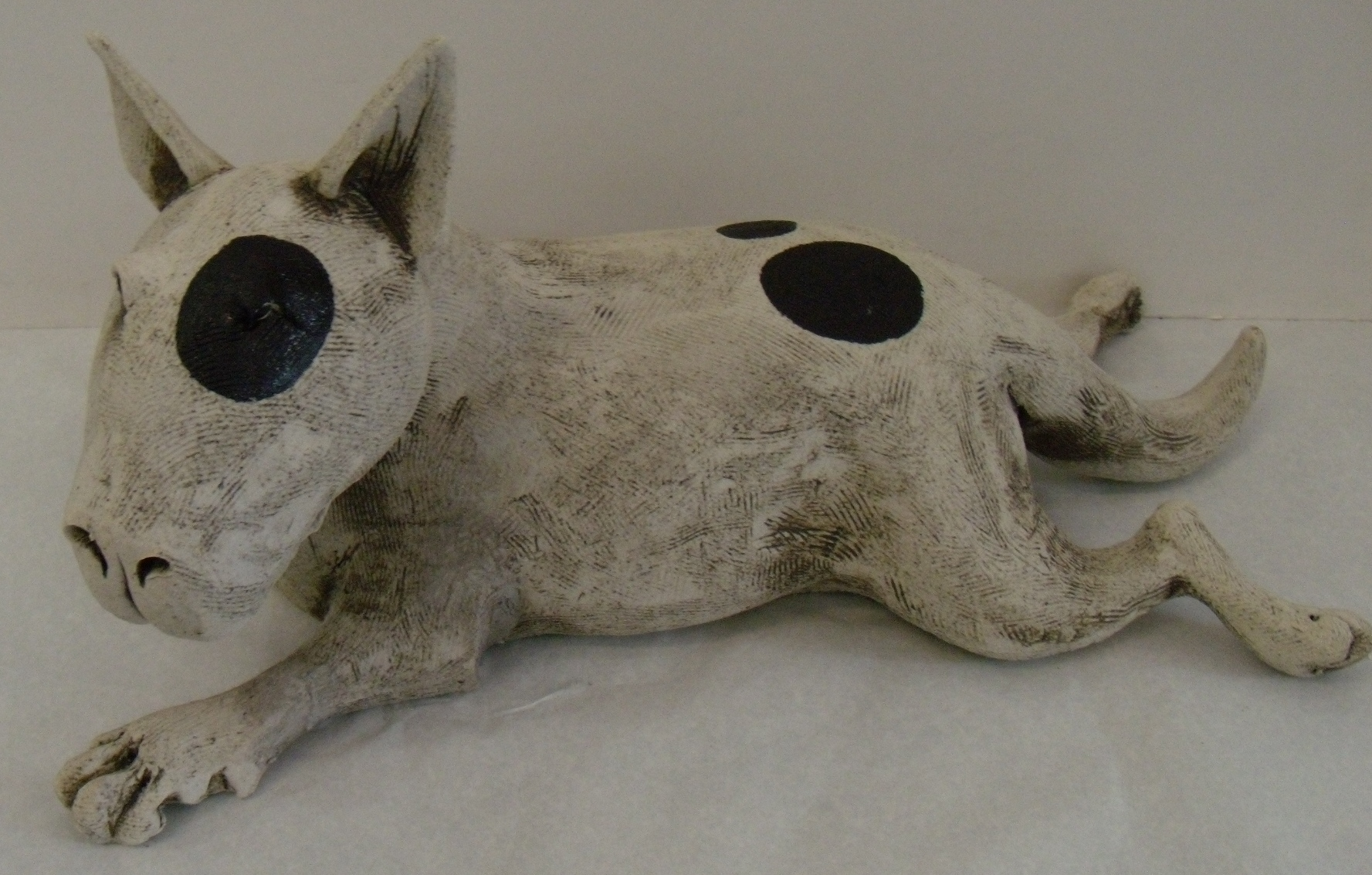 Bull Terrier $290 Measures approx 390mm w x 195 mm h