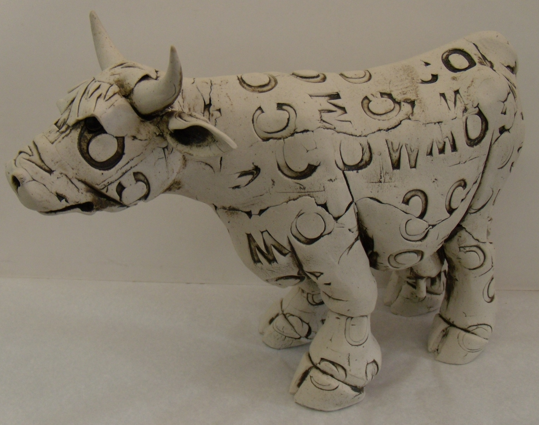 Cow $310 Measures approx 380 mm w x 280 mm h