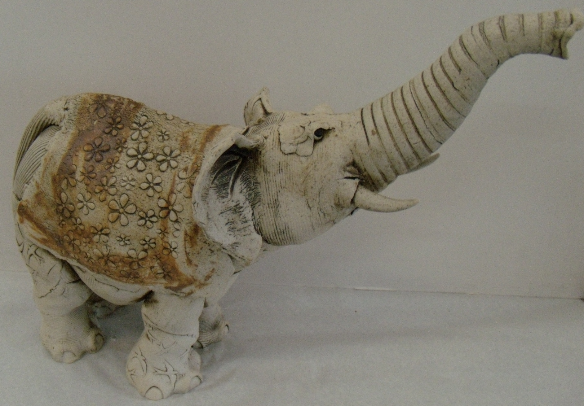 Elephant $280 Measures approx 420 mm w x 340 mm h