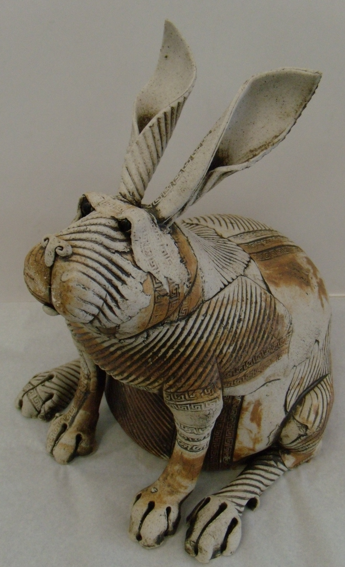 Fat Rabbit 2 $320 Measures approx 330 mm w x 310 mm h