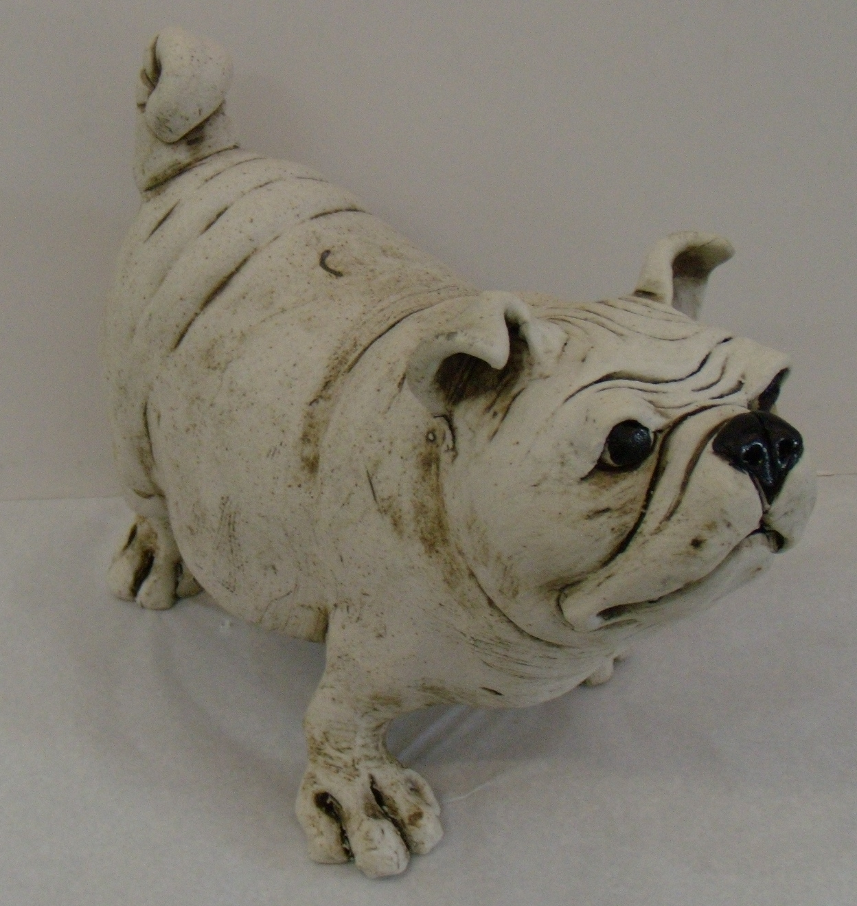 Pug $220 Measures approx 300 mm w x 200 mm h