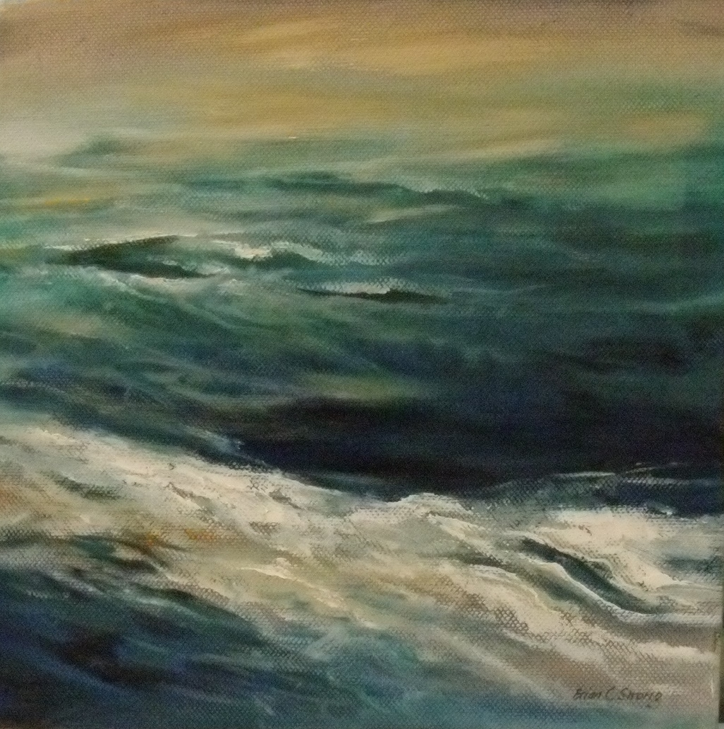Sea Series The Sea 2 $550 Measures 255 mm square