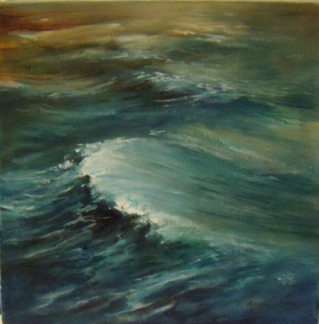 Sea Series The Sea 3 $550 Measures 255 mm square