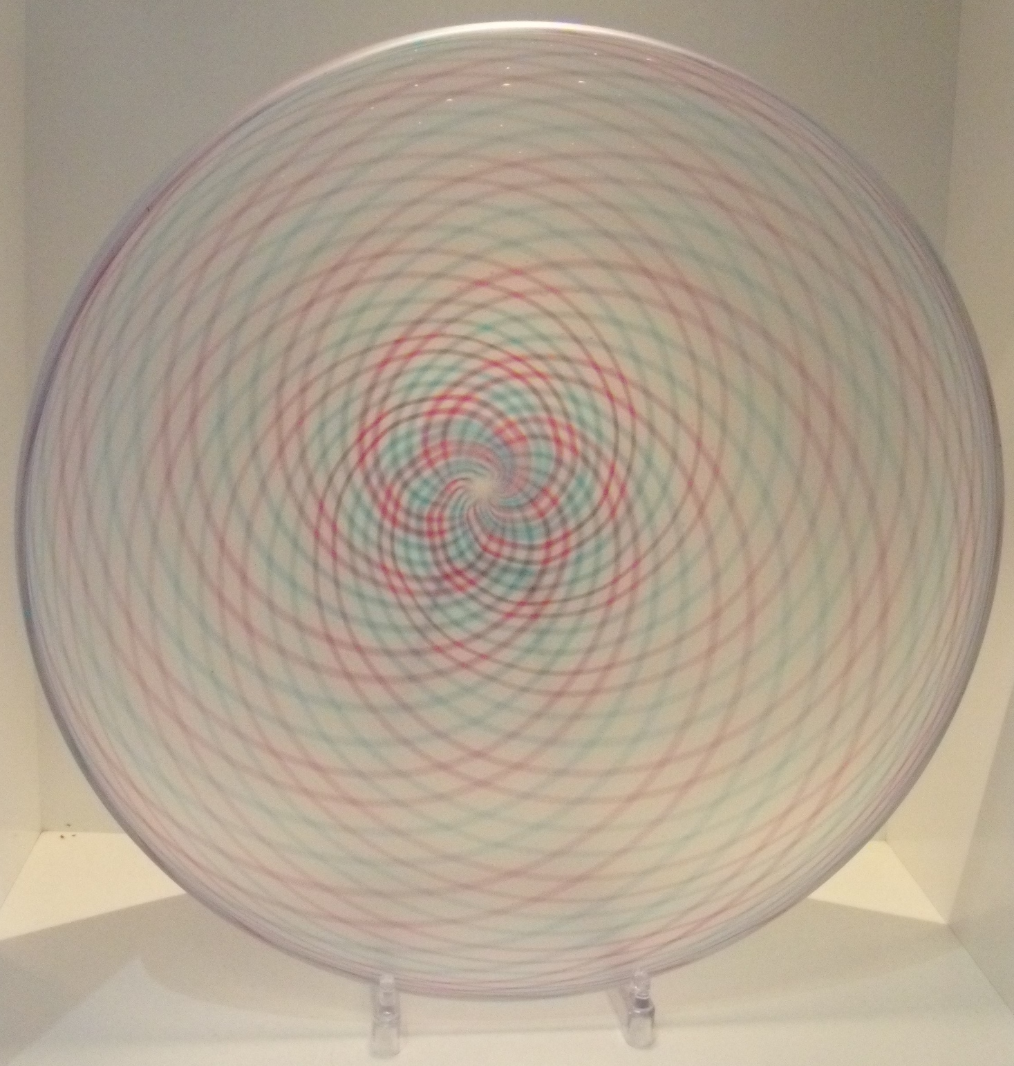 Etched Spiro Bowl $335 Measures 320 mm diameter x 100 mm deep