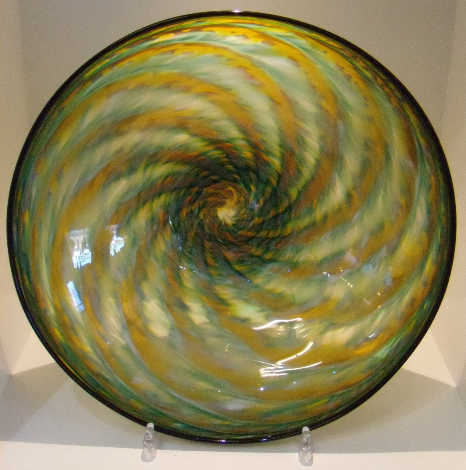 Jade/Amber Shell Bowl $219 Measures 300 mm diameter x 95 mm deep
