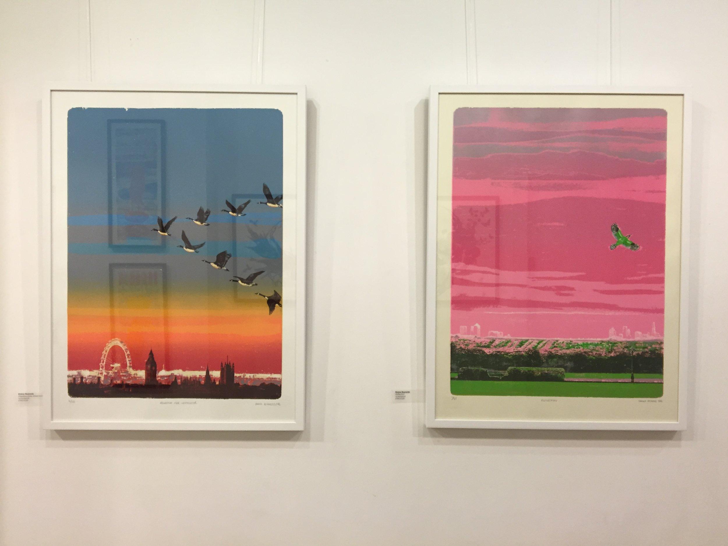 At the Espacio Gallery