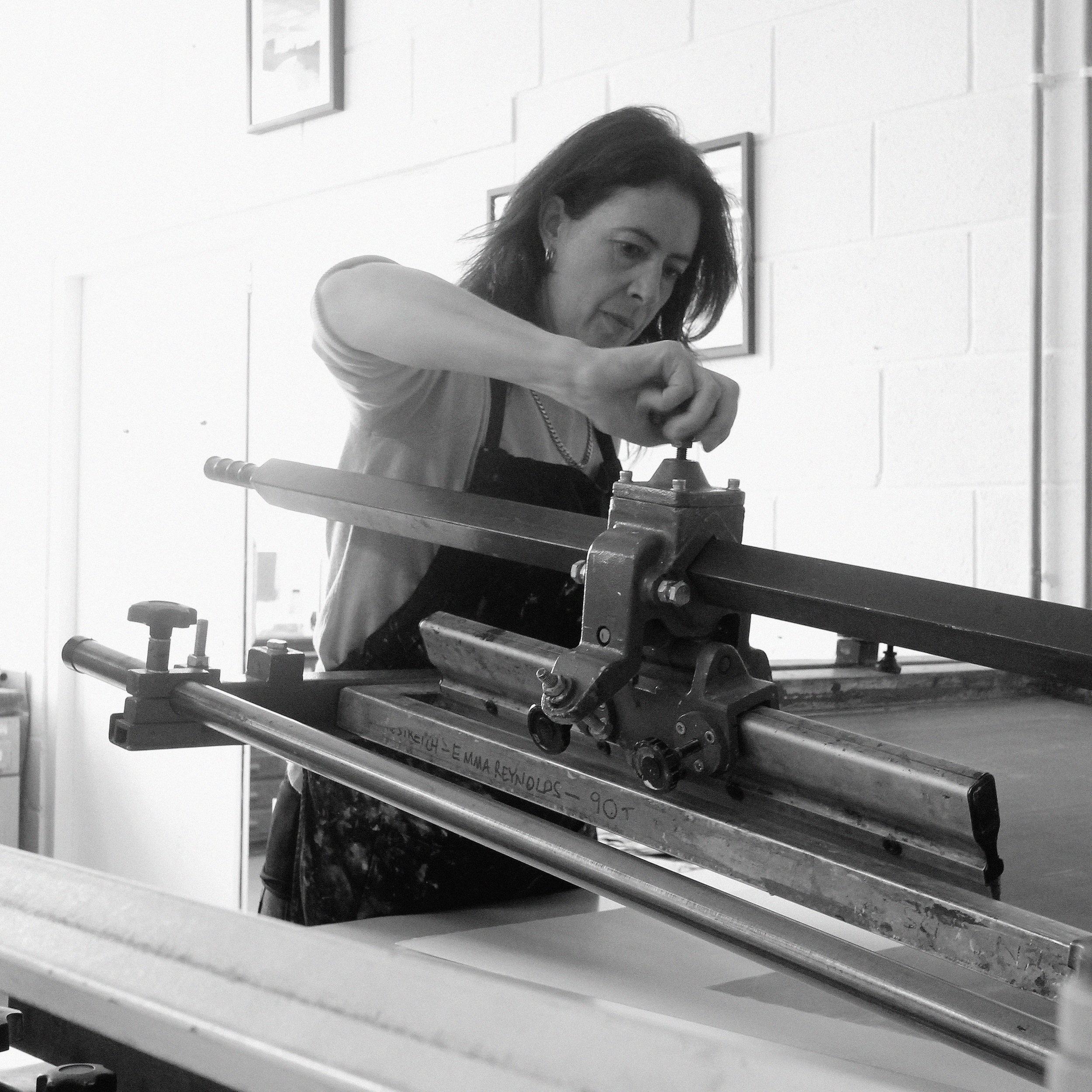 Emma-Jane Reynolds Fine Art Screenprinter
