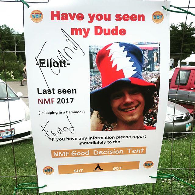 Glad you're safe dude #nelsonvillemusicfestival #ohio @nelsonvillefest