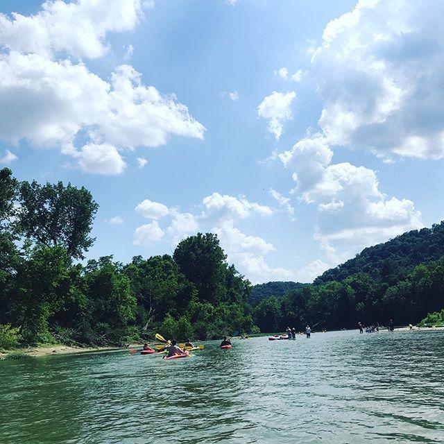 Beautiful day for kayaking