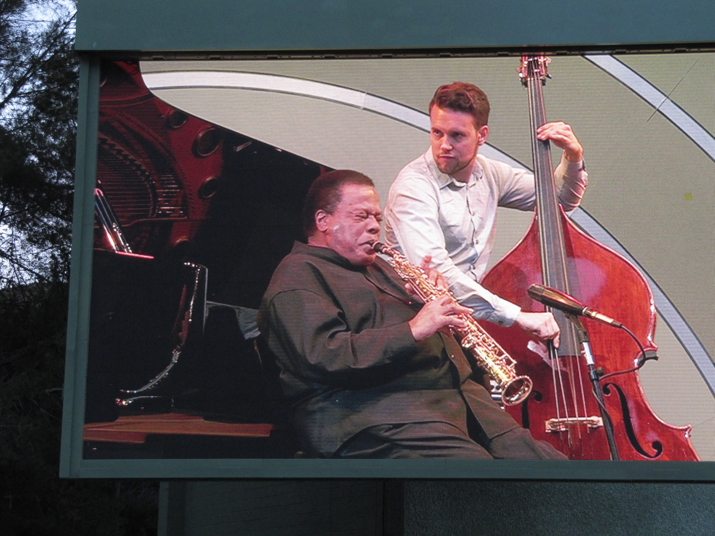 with Wayne Shorter, Hollywood Bowl
