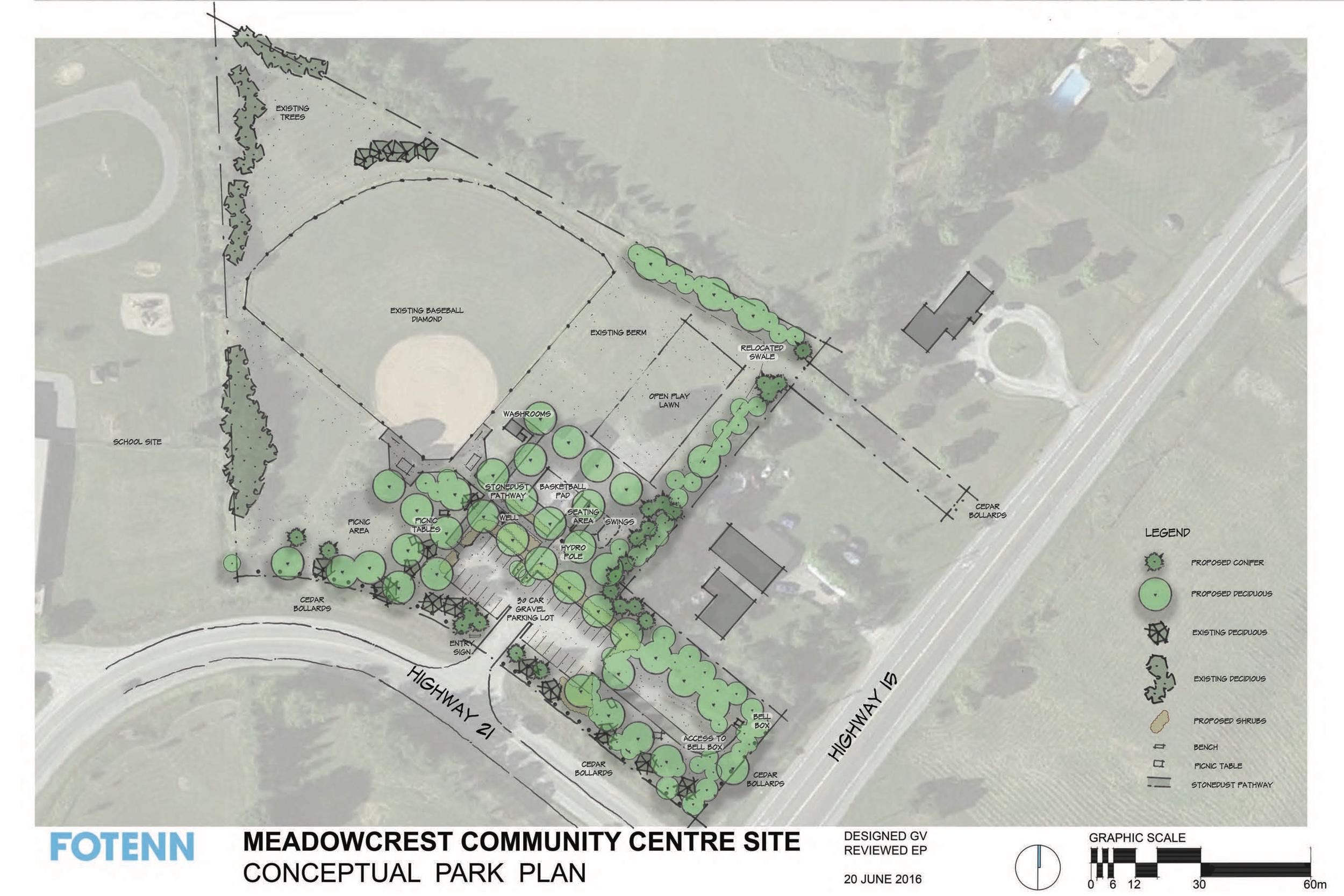 Meadowcrest Park Concept - Click to Enlarge