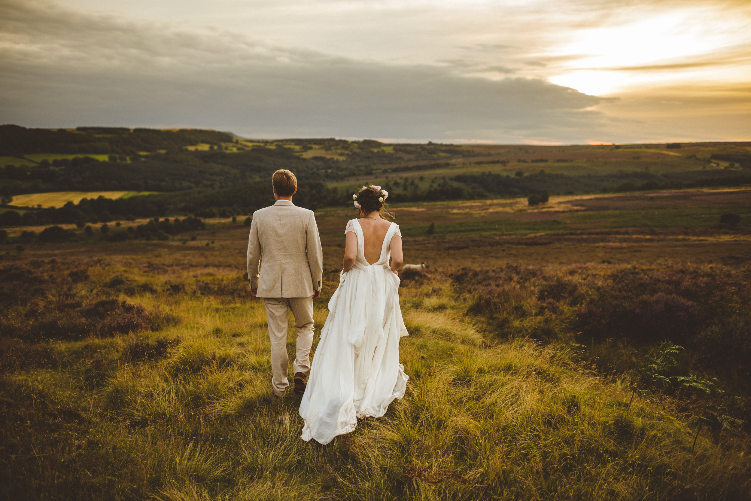 North Yorkshire Farm Wedding