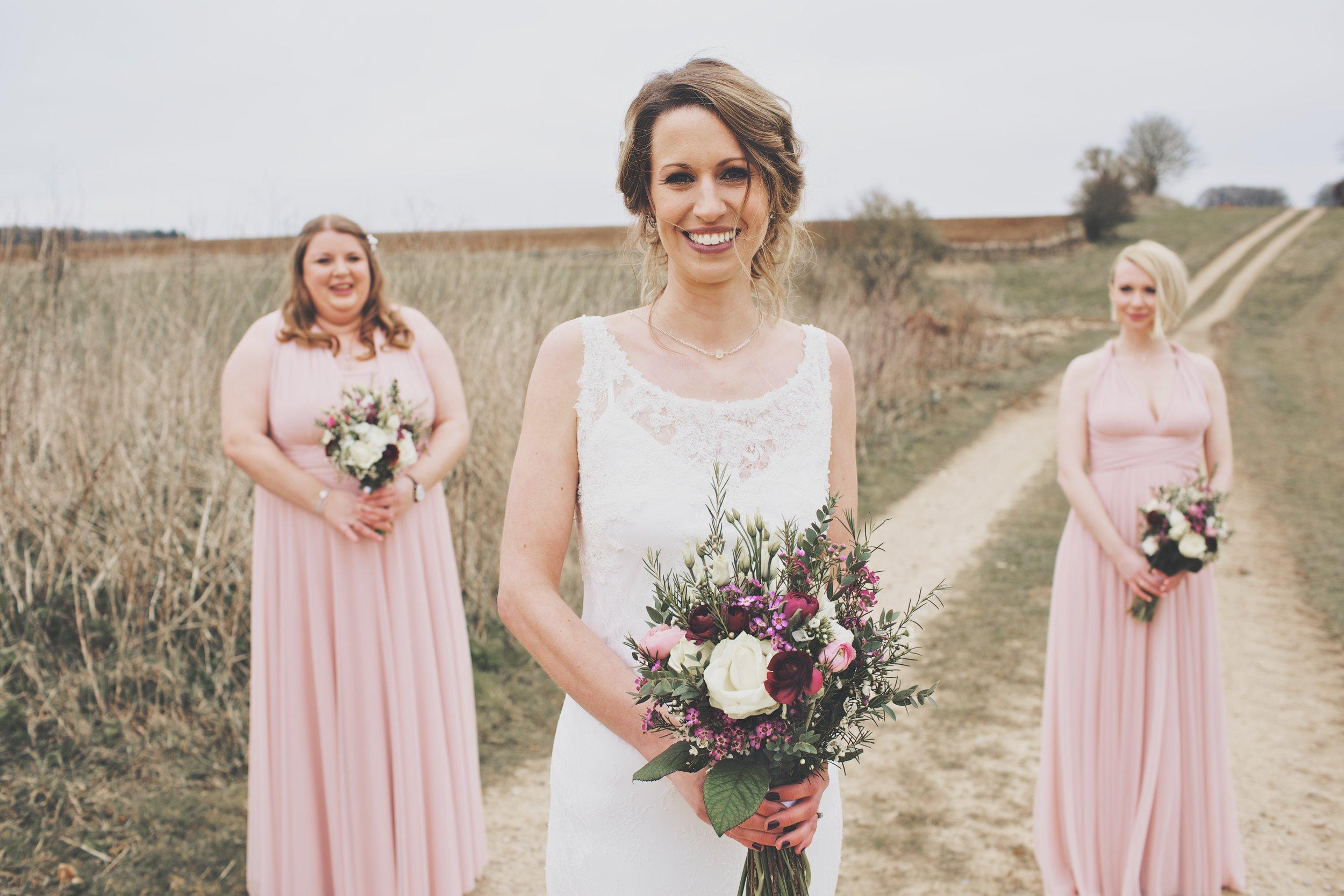 Kate - Bride and bridesmaids