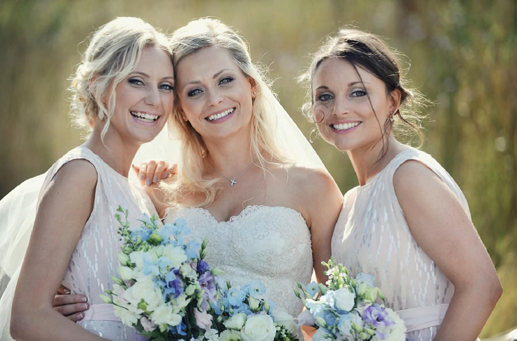 Claire and her Bridesmaids