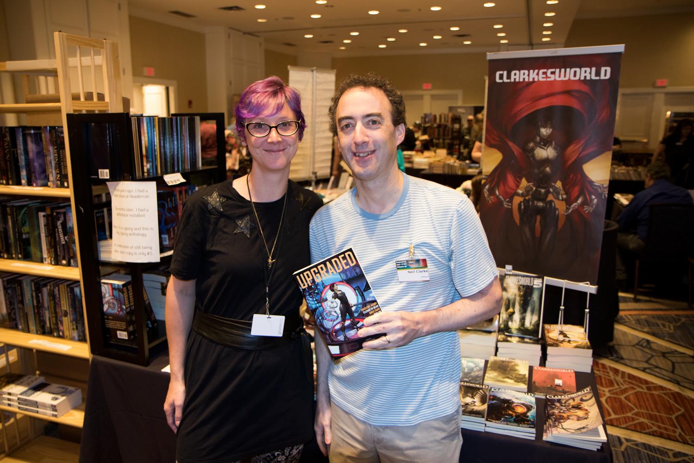 Margot and Neil Clarke at Readercon 2015