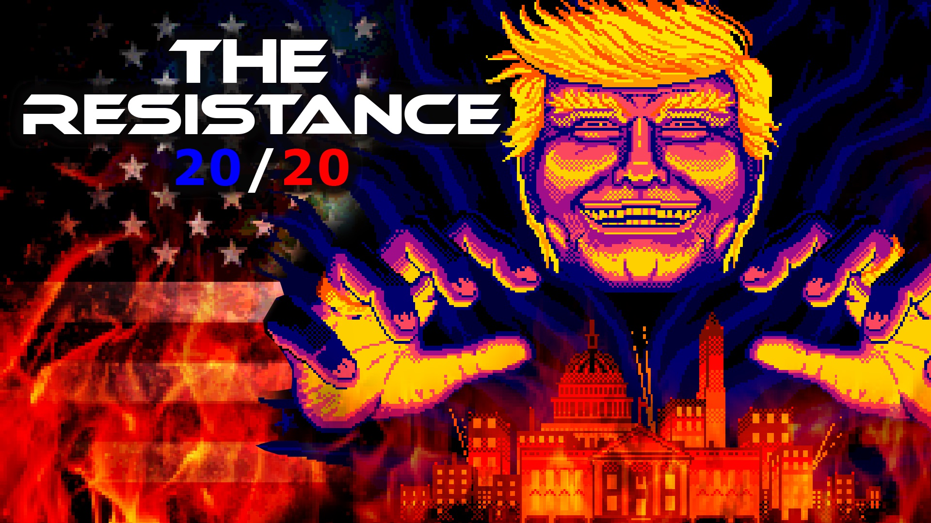 In the grim darkness of the future, there is only TRUMP...
