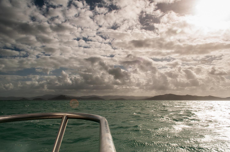 Sailing in the Whitsundays, Australia. November 2012