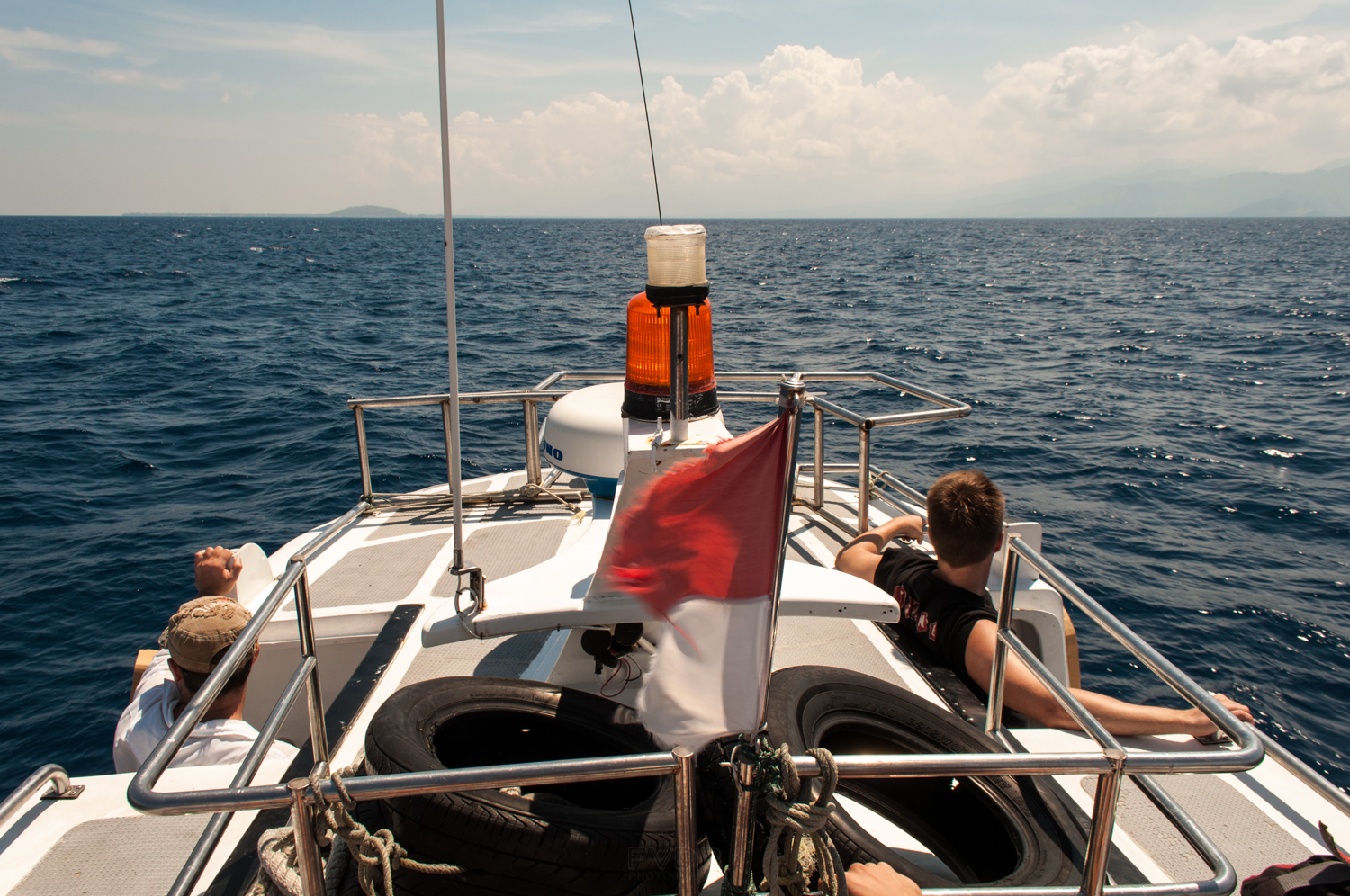 En route to the Gili Islands, Indonesia. November 2012
