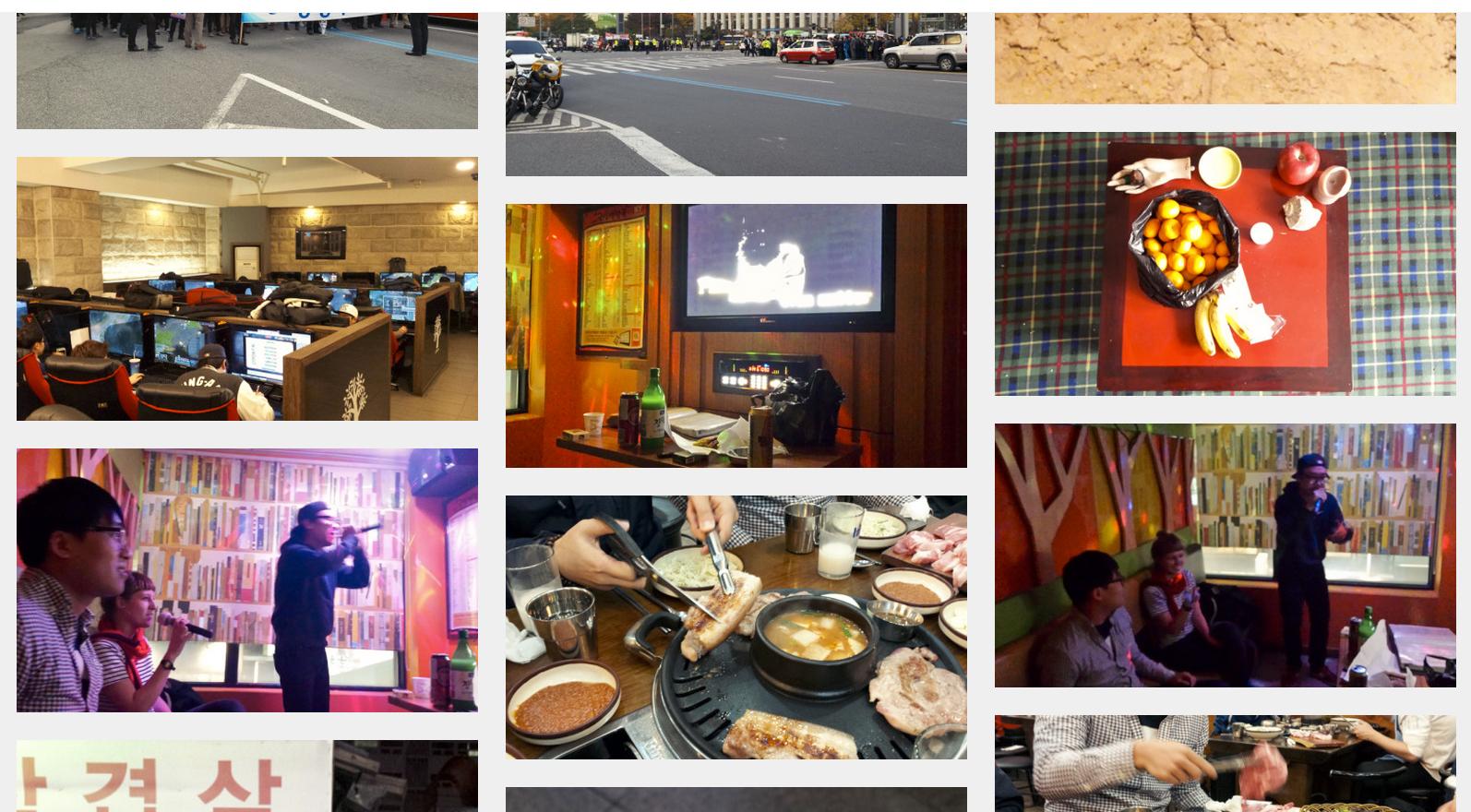 Karaoke, living room creepers, gaming cafes.