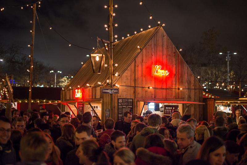 Glühwein is a hot topic at the Weihnachtsmarkt