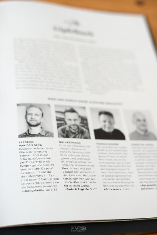 Oh hi! Page 1 of Bergwelten Magazine.