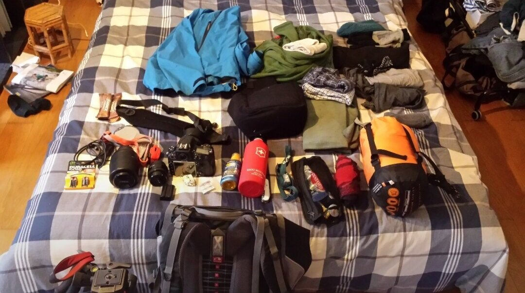 Sept 26th 2016 - 3 years ago… - Preparing for my first Bergwelten assignment