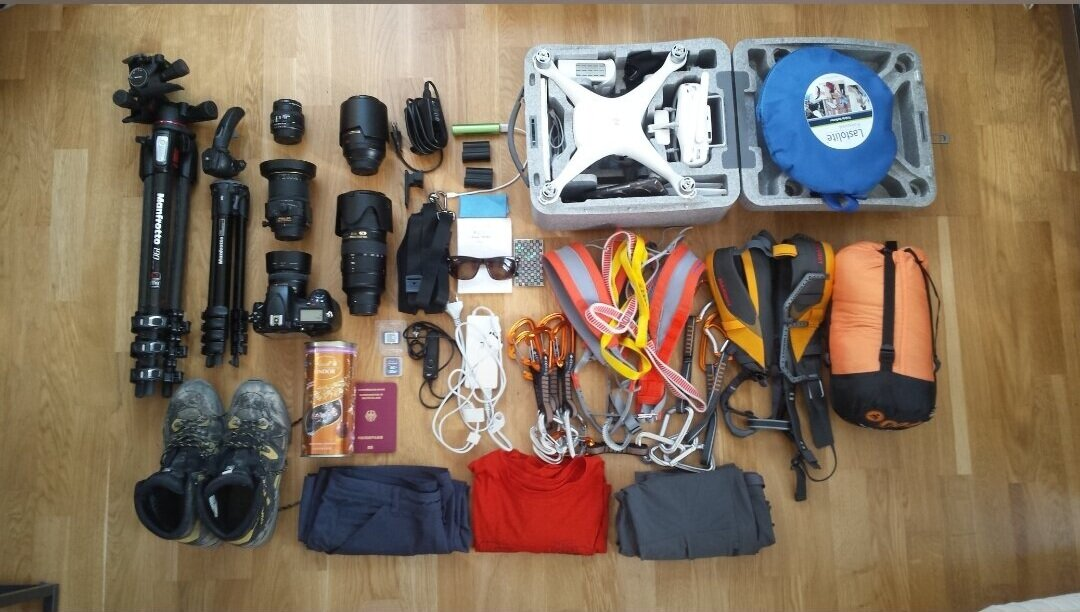 Sept. 27th, 2017 - Two years ago - preparing for a multi-day assignment including beer drinking and mountain climbing..