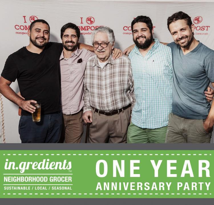Victor, Christian, Grandpa Hector, Joseph and Patrick
