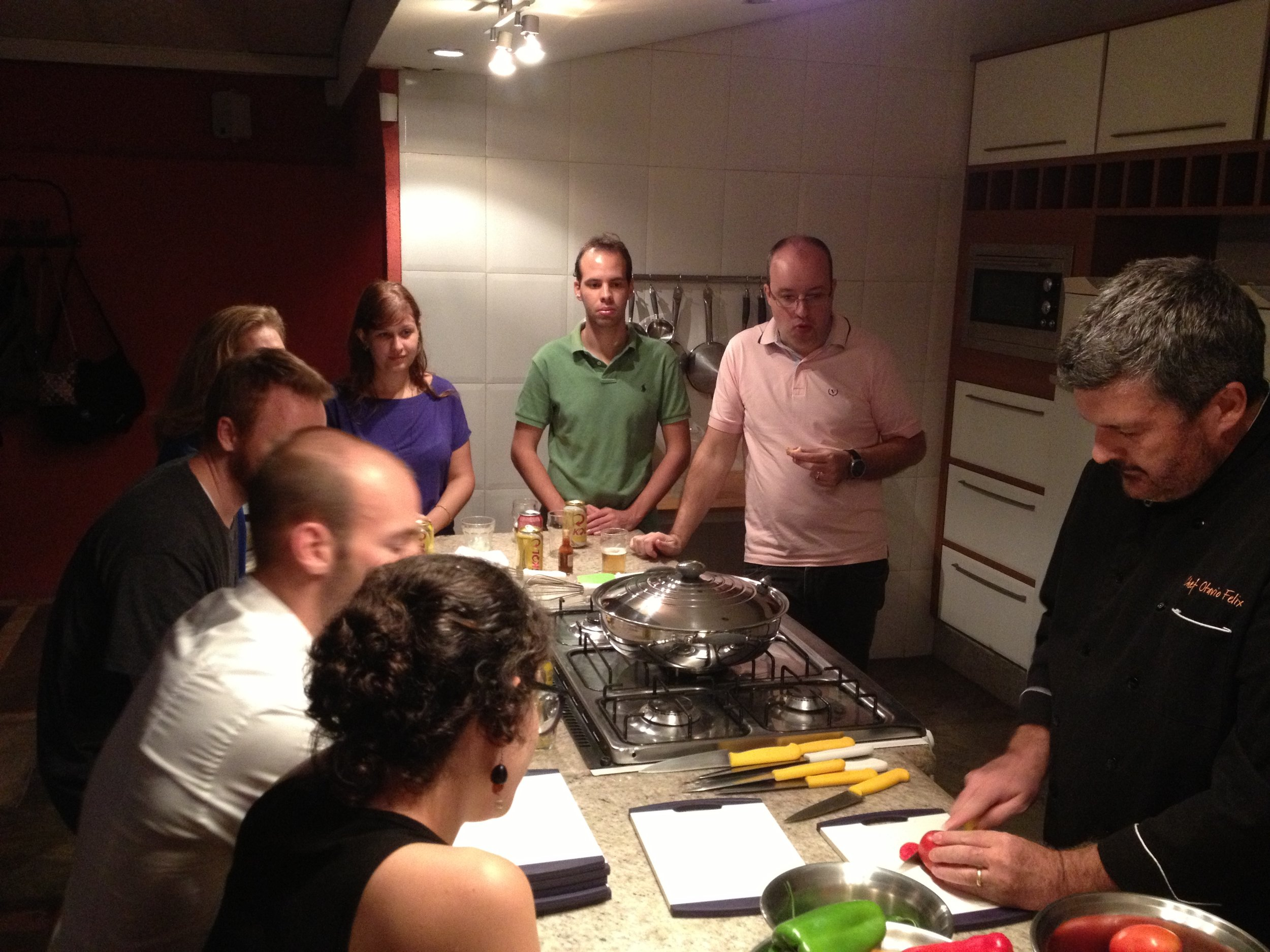 Brazilian Cooking Classes.  Courtesy of Tupperware Brazil's Culinary Specialist.