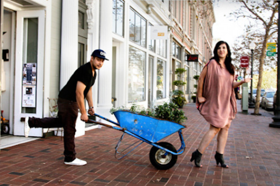 POPUPHOOD Abby Wilcox explores a 'hood of pop-ups in Oakland