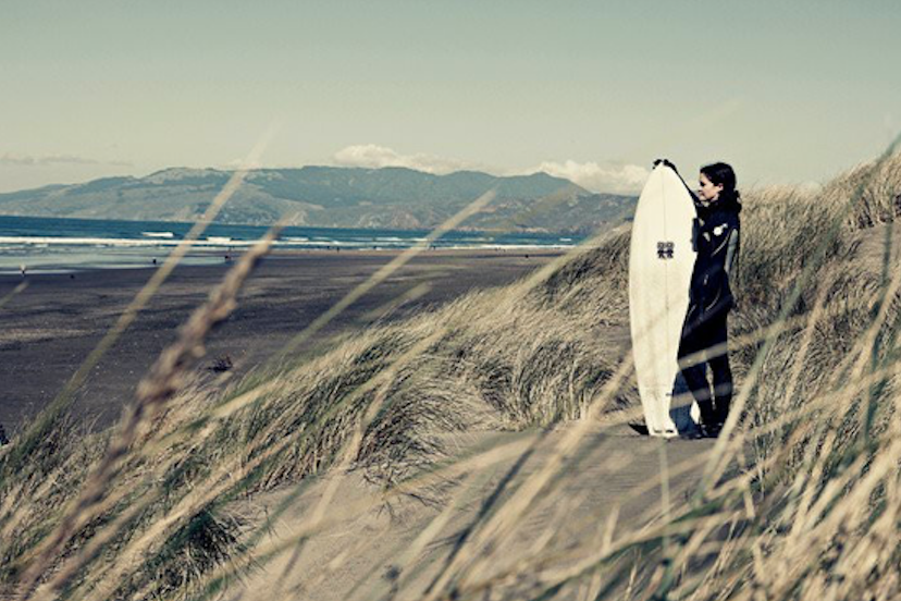 WAKE UP Abby Wilcox captures local surf culture with her camera
