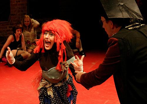 Audrey Crabtree as Patty O'Pattycake. Photo by Ken Stein .
