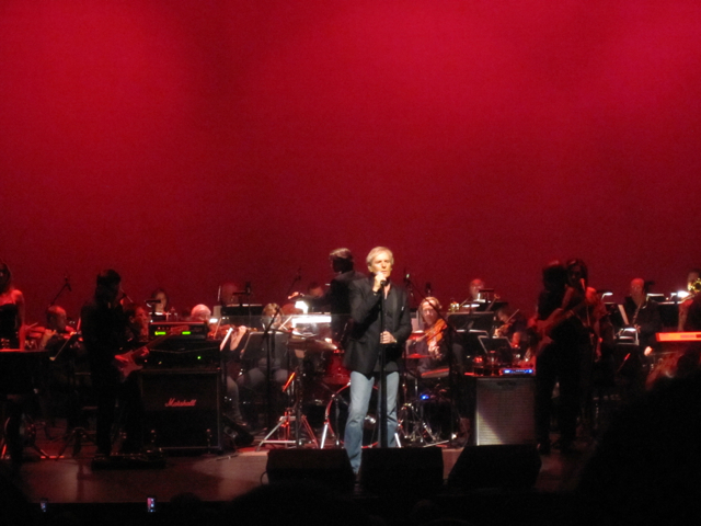 At the Living Arts Centre in Mississauga, ON - June 2014