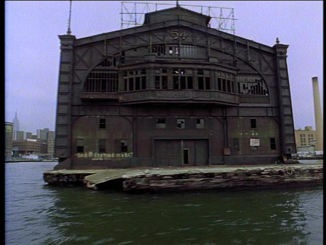 Pier 54, in 1991