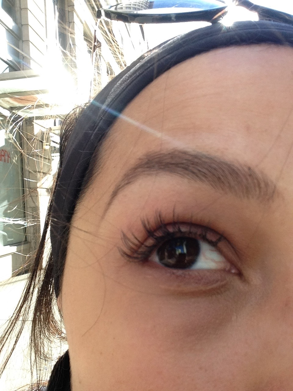 Kindly ignore the fading eyelash extensions & dark under-eye circles, THANKS