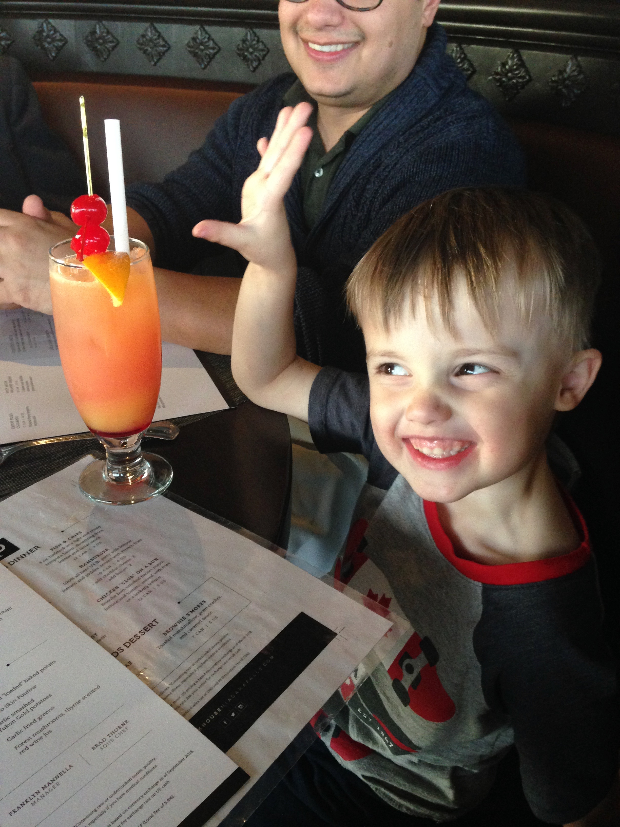 Camden's first Shirley Temple!