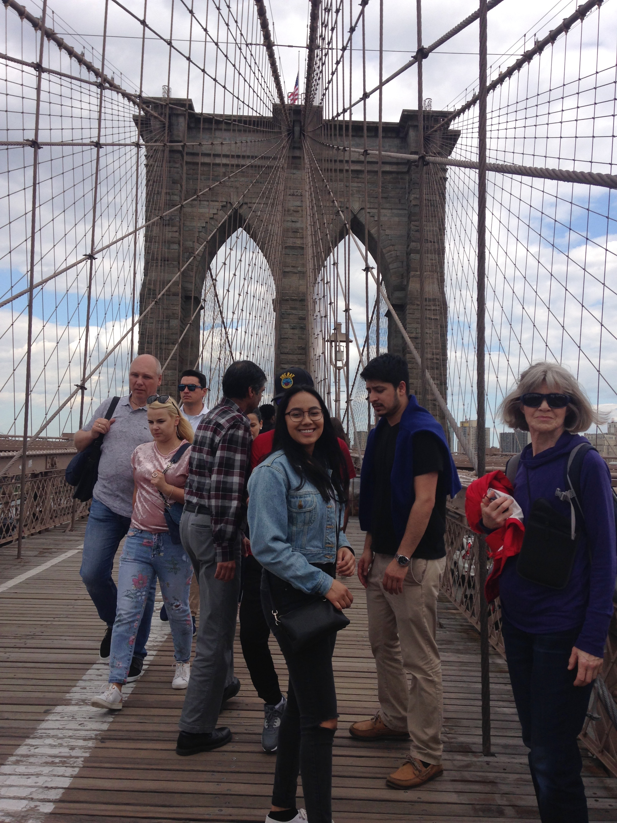Tianna, The Brooklyn Bridge