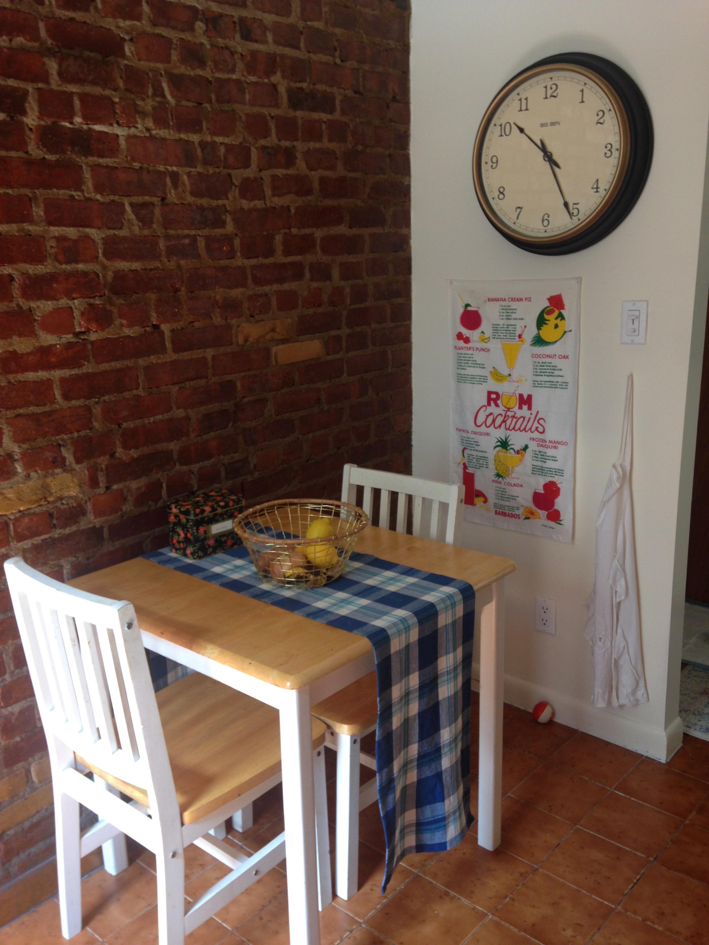 1. Dining area
