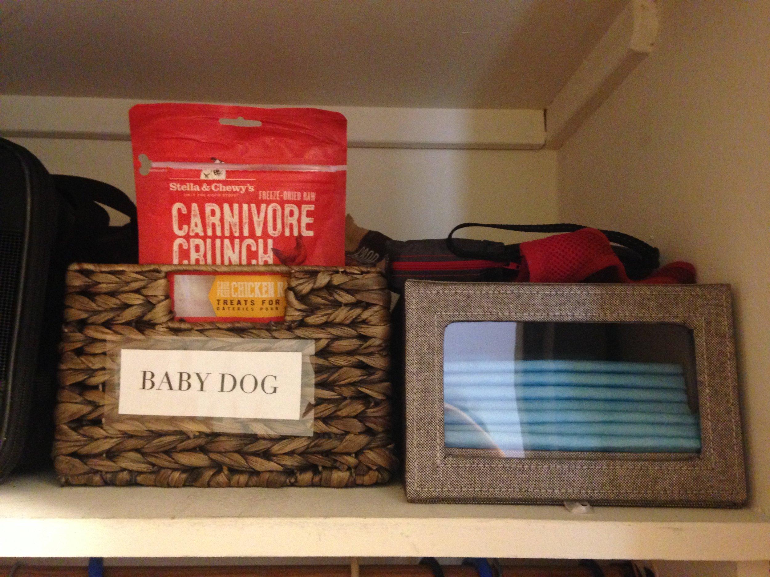 5. Baby Dog's accessories