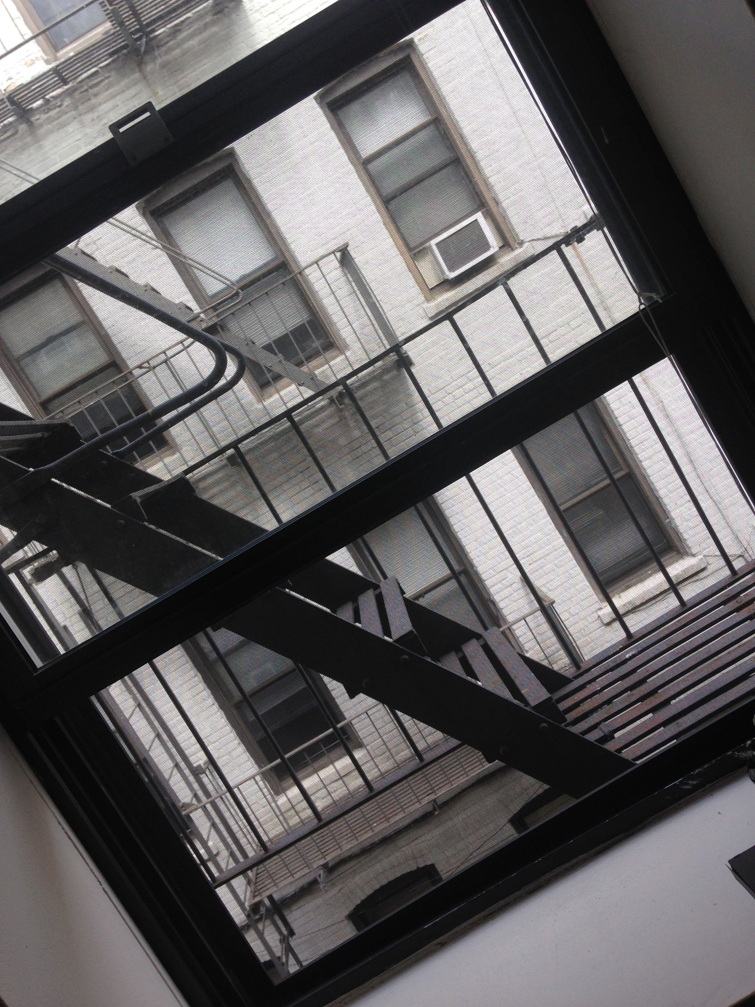7. Fire escape!