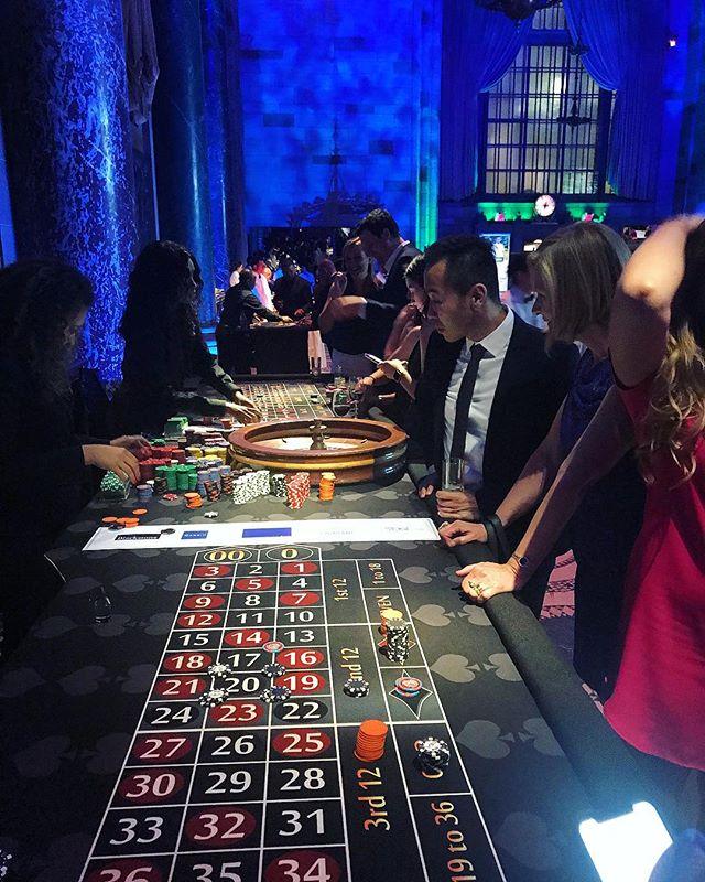 Luck be a lady tonight 🎶🎲🃏 #casinonight #casino #events #fundraiser #nyc #eventplanner #benefit #eventseason #gambling #vivalasvegas #roulette
