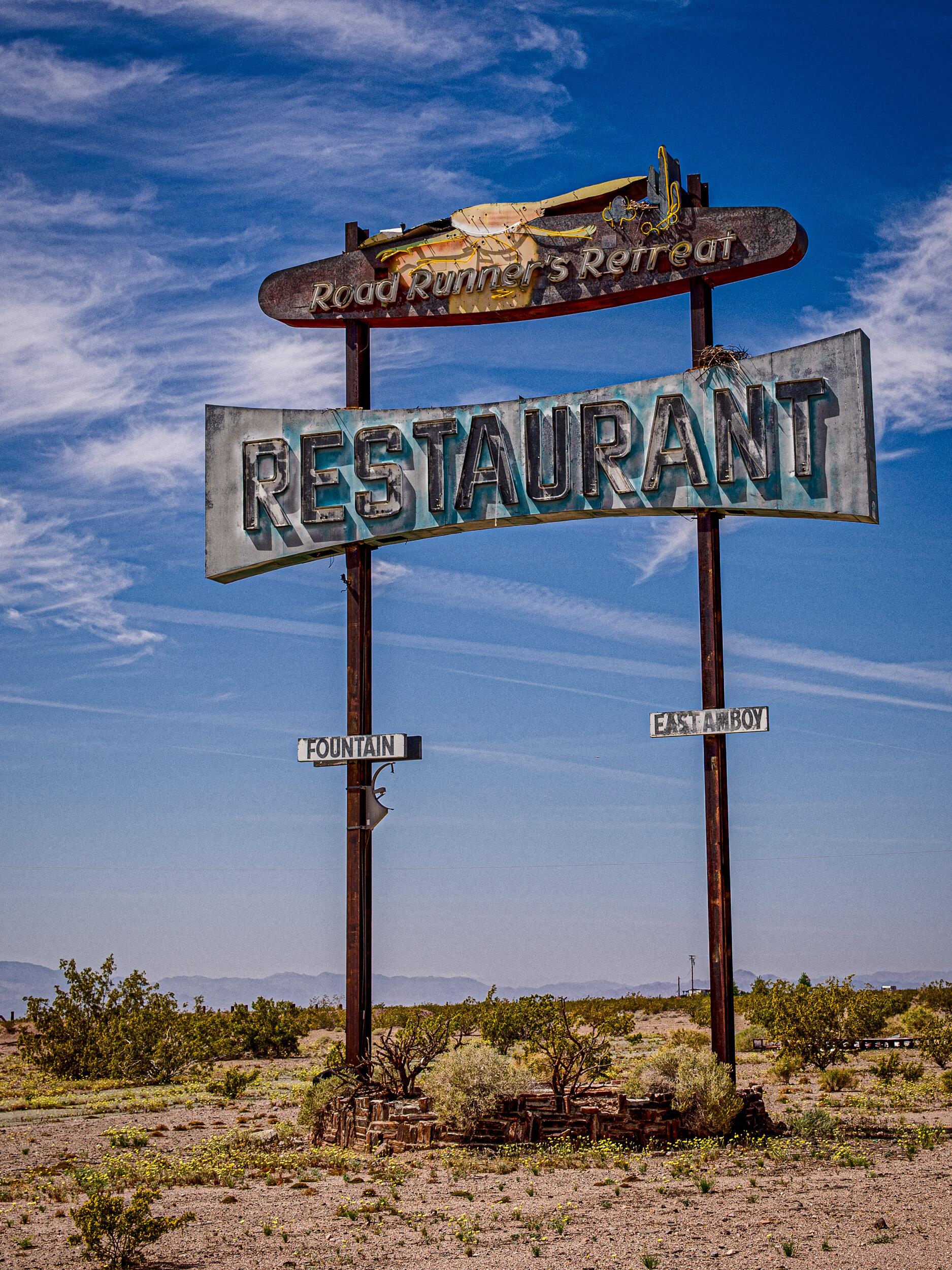 Route 66, Mojave Desert