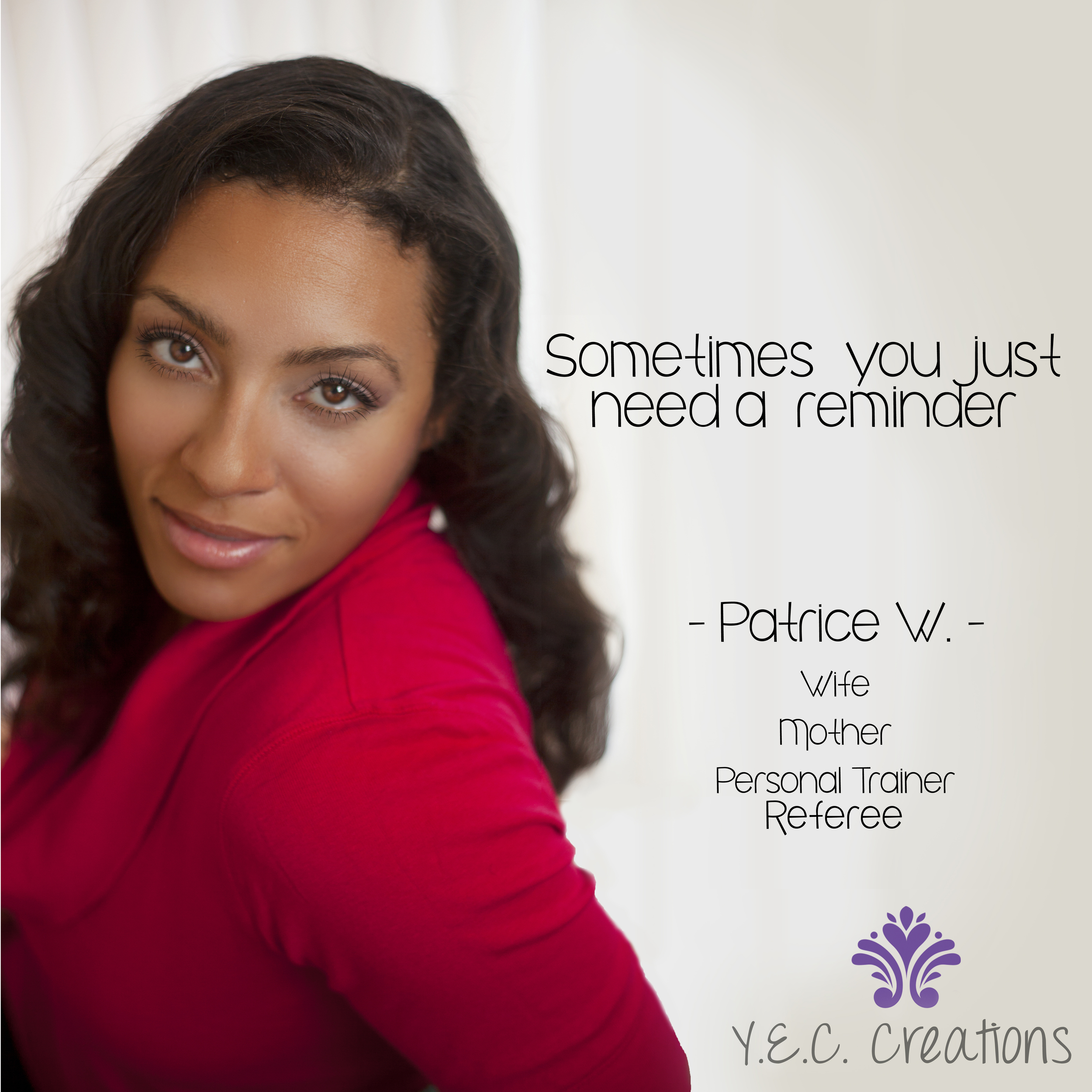Patrice sometimes you just need a reminder