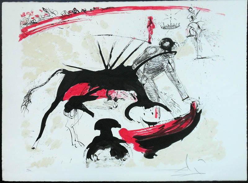 Salvador Dalí,  Bullfight I , 1966–67