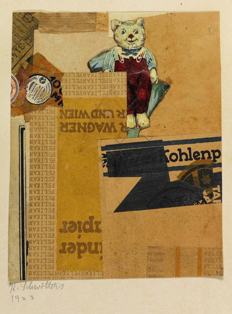 Kurt Schwitters,  Sans titre (WAGNER UND WIEN) , 1925