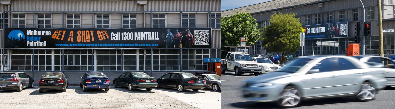 Melbourne Indoor Paintball, Salmon Street, Port Melbourne