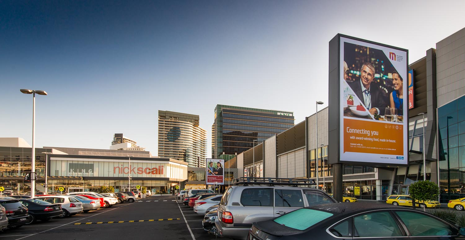 """""""Connecting You"""" Campaign, MCEC, South Wharf, Melbourne"""