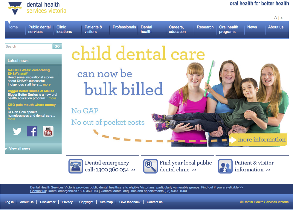 Dental Health Services Australia