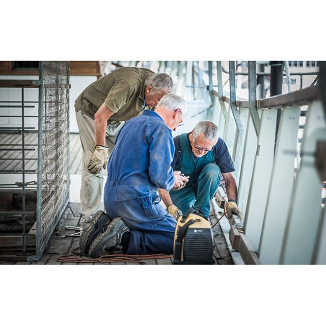 Alma Doeple Melbourne restoration volunteer team at work