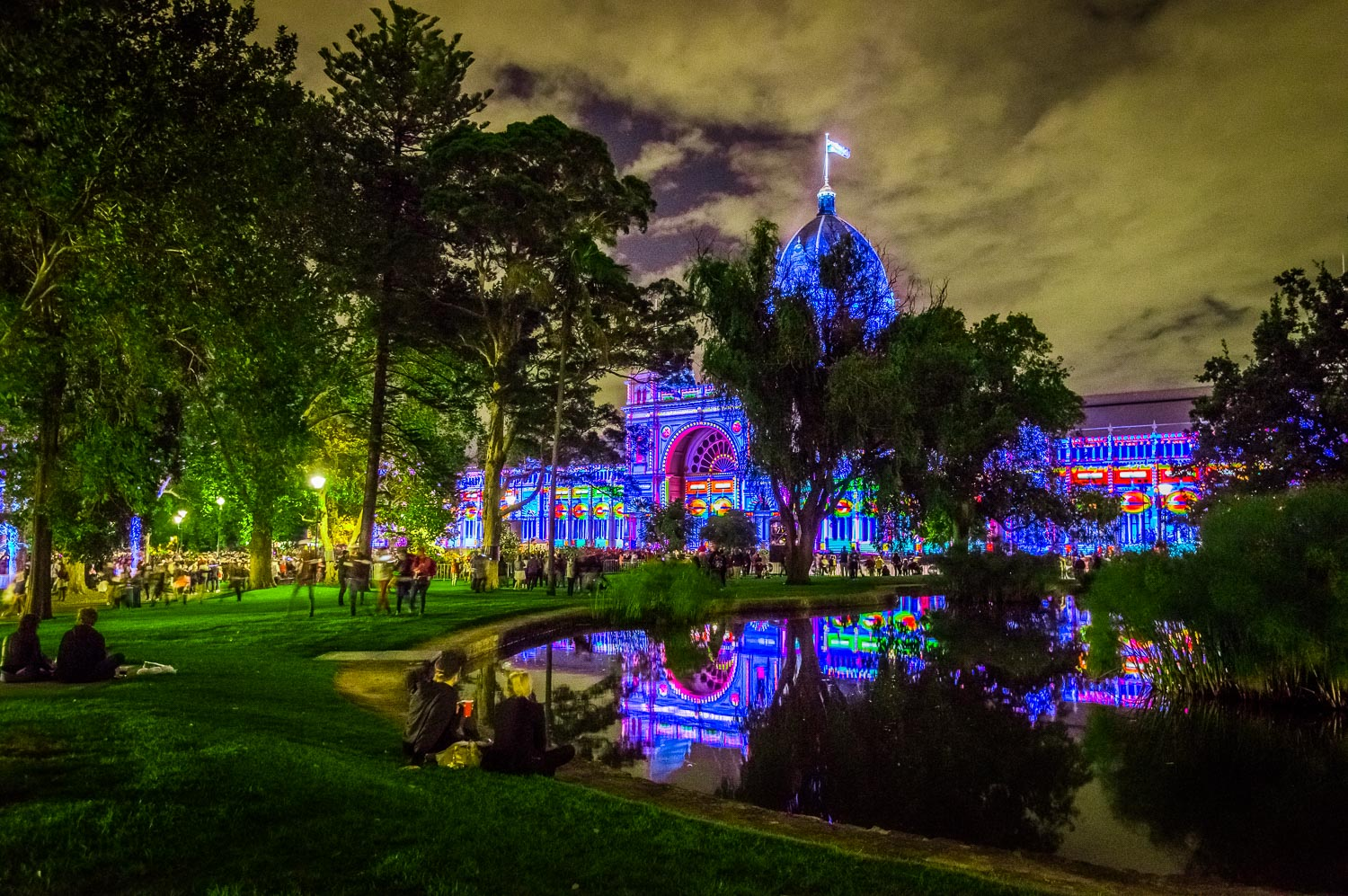 White Night 2017 Royal Exhibition Building Southern Drive-12.jpg